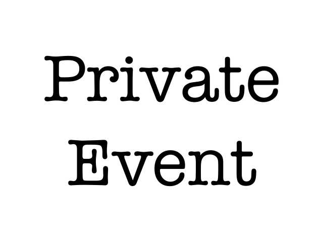 RAN-Private: Private Event
